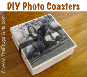 DIY photocoasters