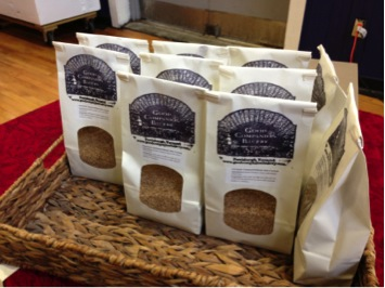 Cracked Wheat and Wheat Bran from Boundbrook Farm
