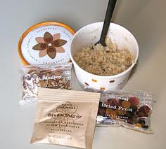 Starbucks oatmeal with all the trimmingsSource: fitsugar