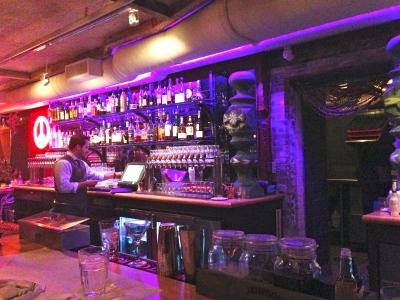 Beat Hotel bar