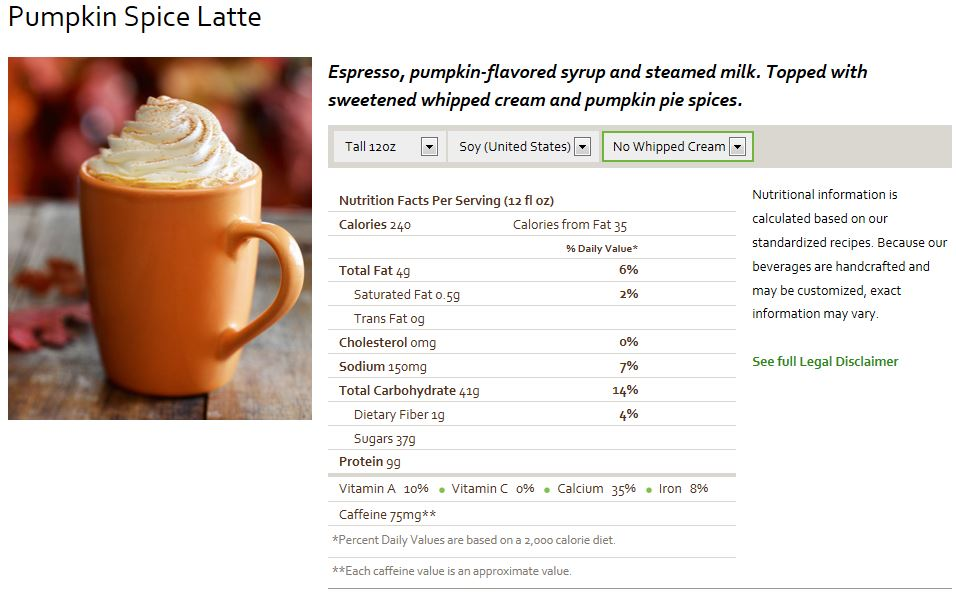 Recipe Make Way For The Great Er Pumpkin Spice Latte The