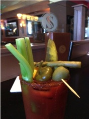 Stephanie's On Newbury Bloody Mary