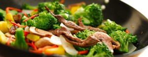 Beef stir fry, an easy-to-prepare ketogenic meal