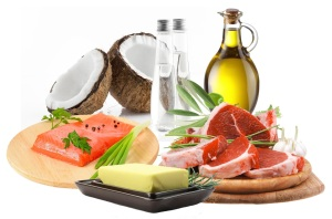 High fat sources common in the ketogenic diet
