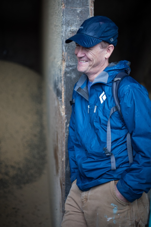 Pictured: Friedman professor Tim Griffin. This is the sixth time Tim Griffin and Chris Peters have brought AFE students on this field trip to the UNH dairies.