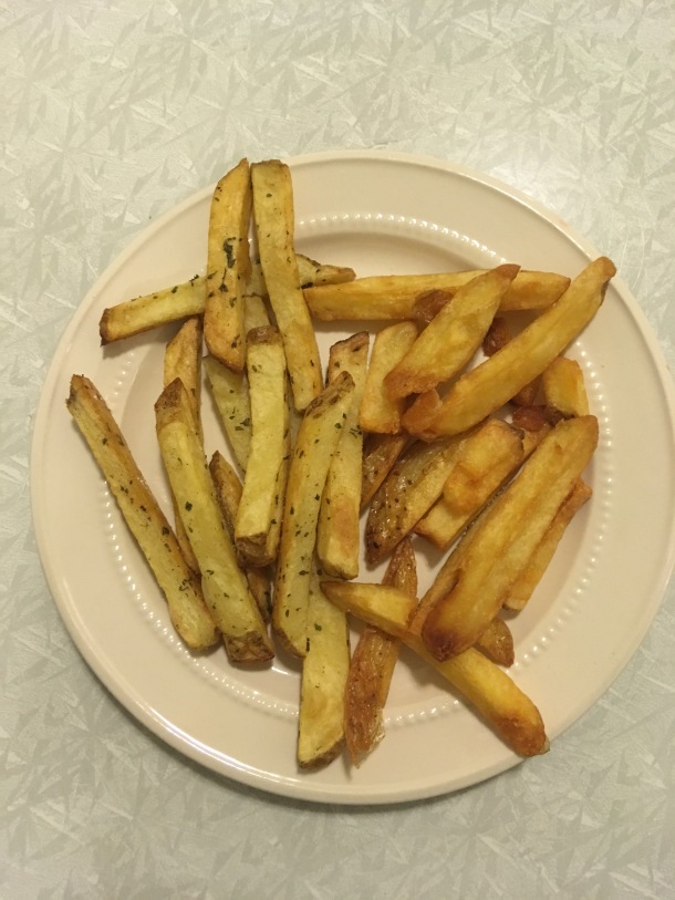 oven fries and french fries