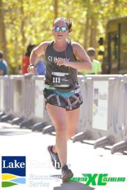 Sara Scinto preparing for the Boston Marathon