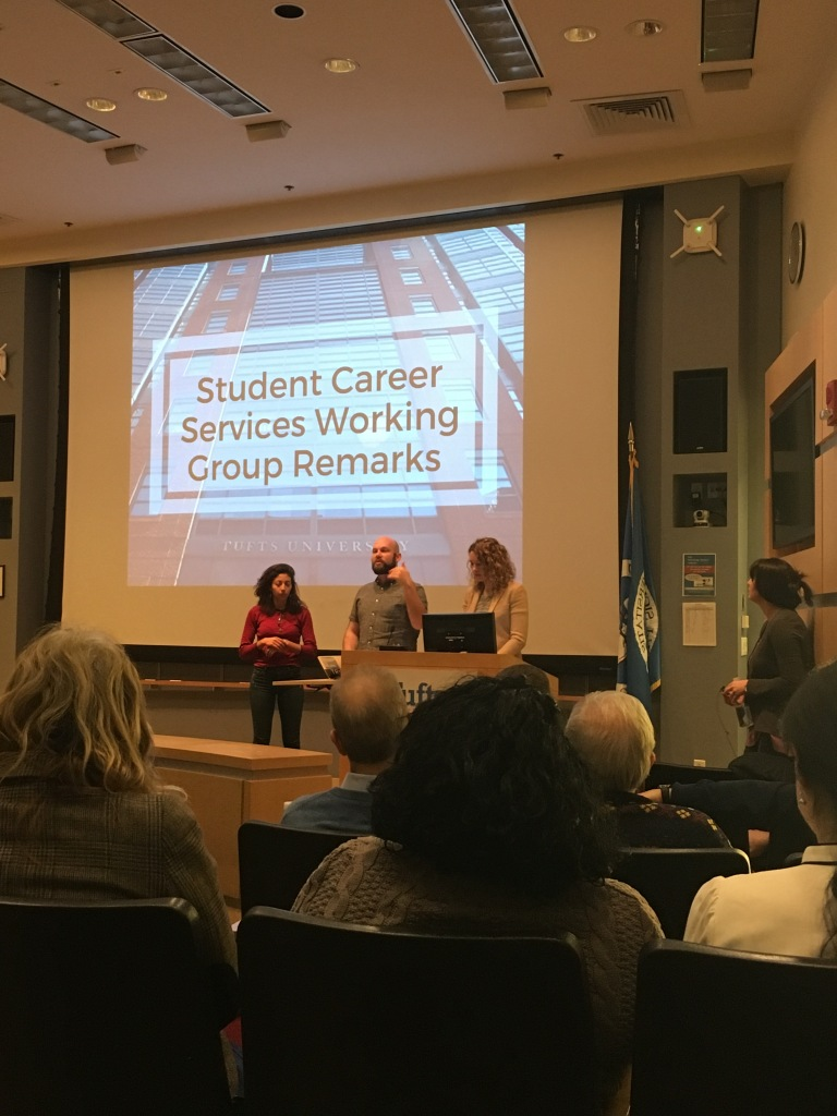 Tufts Student Council Student Career Services Working Group