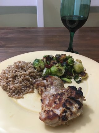 Grilled chicken broiler recipe